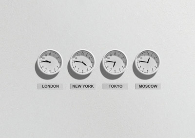 Highlighting Time Zones